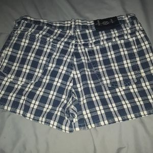 lei Shorts - LEI plaid shorts